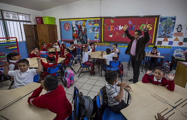 Imagen de escuela de educación básica de la Secretaría de Educación Pública (SEP). FOTO: CUARTOSCUROFOTO: CUARTOSCURO