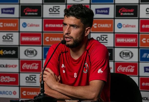 El futbolista urguayo habló sobre las claves para repuntar del certamen en curso correspondiente a la Liga Mx. Foto: Club Xoloitzcuintles de Caliente