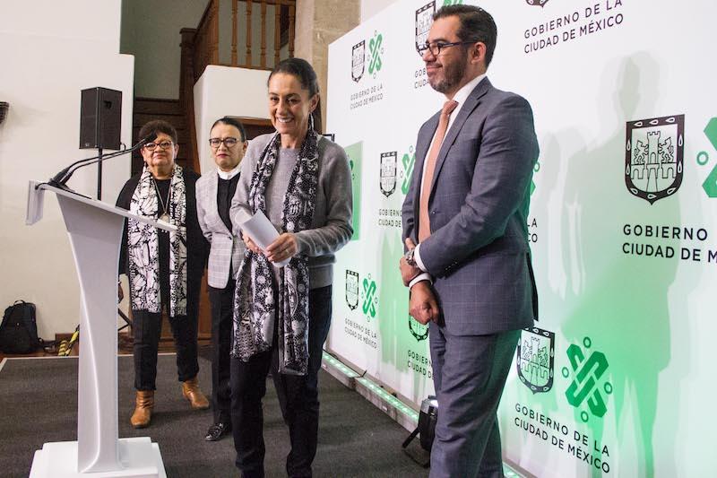 En conferencia de prensa, la jefa de Gobierno y el secretario de Seguridad Ciudadana, Jesús Orta, dijeron que la ciudadanía respondió a su llamado. Foto: CUARTOSCURO.COM