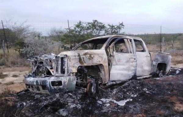 Hallan 20 cuerpos sin vida en Miguel Alemán, Tamaulipas, y varios vehículos incendiados
