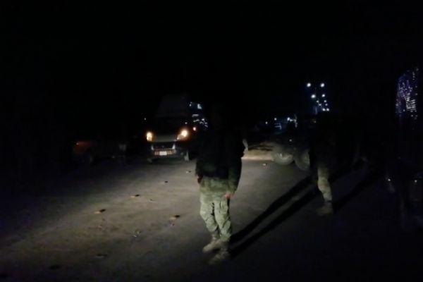 El fuego ya fue apagado y el Ejército resguarda la zona