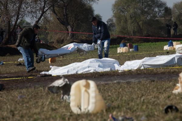 La PGJEH informó que están proporcionando información a los familiares de las víctimas en Tlahuelilpan. FOTO: ARCHIVO/ CUARTOSCURO