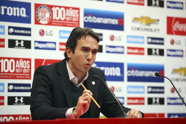 Francisco Suinaga Conde está a la espera de la investigación solicitada en a la Federación Mexicana de Futbol. Foto: Cuartoscuro.