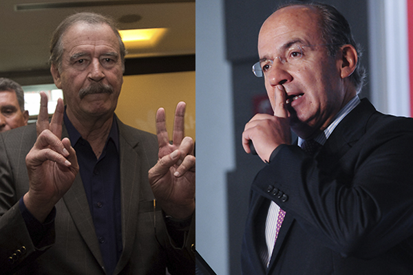 Los ex presidentes respondieron a las acusaciones. FOTO: CUARTOSCURO