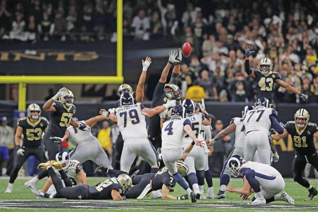 Los Rams de Los Ángeles se medirán ante el equipo de Los Patriotas AP Photo/Carolyn Kaster)