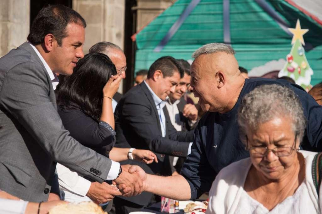 Cuauhtémoc Blanco en un evento en Morelos. Foto: Especial.