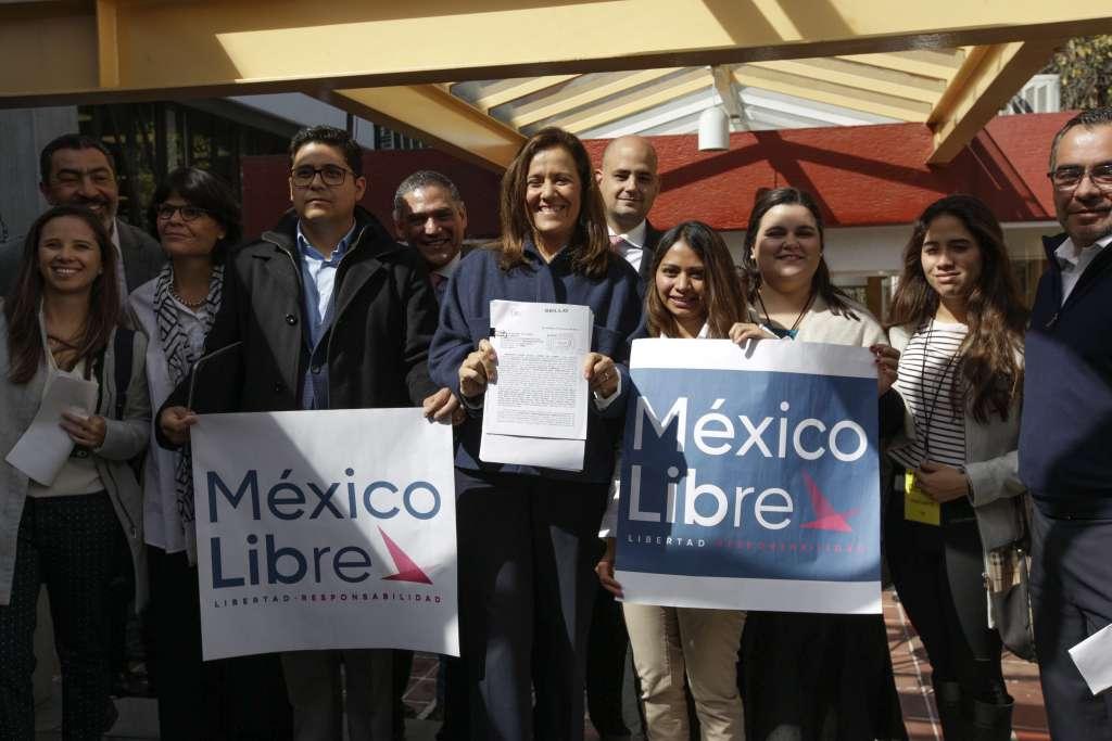 Para que México Libre pueda ser registrado ante en INE, necesita 240 mil firmas. Foto: Archivo | Cuartoscuro