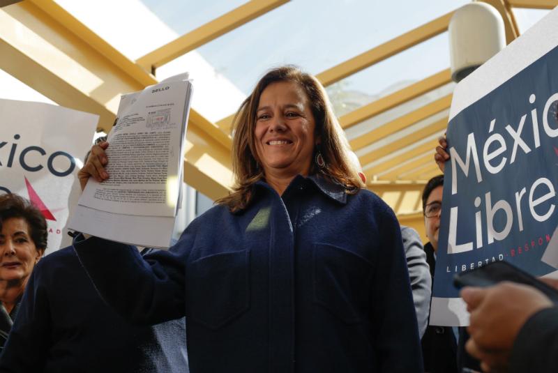 Felipe Calderón y su esposa, Margarita Zavala buscan crear un nuevo partido político llamado