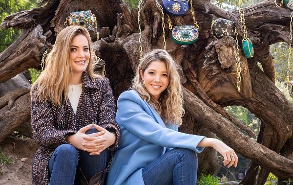 EMPRENDEDORAS. Mariana Ocejo y Adriana Grat. Foto: Yaz Rivera