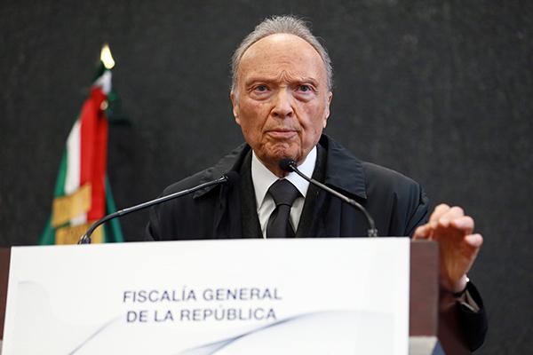 Alejandro Gertz Manero, fiscal general de la República. FOTO: CUARTOSCURO