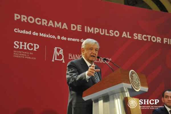 AMLO dijo que se trabaja para impulsar el desarrollo y modernización del país sin aumentar impuesto en términos realesFoto: @SHCP_mx