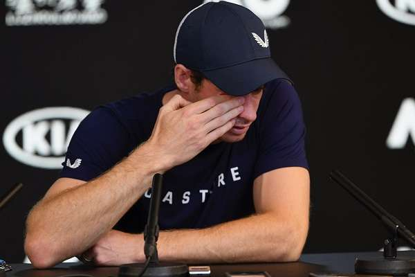 El ex número uno del tenis mundial, tres veces ganador de un torneo de Grand Slam, se retiró el año pasado del Abierto de Australia para someterse a una operación de cadera y se reincorporó junio. Foto: AFP