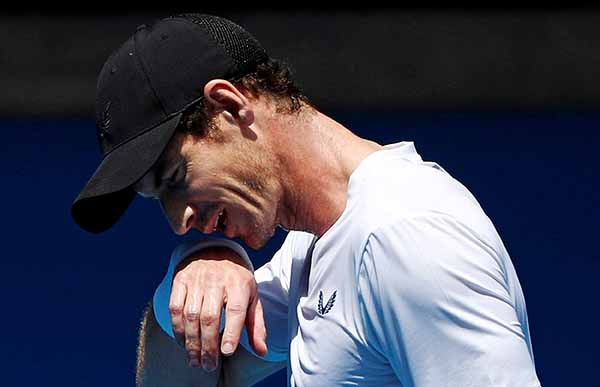 Murray, de 31 años, tratará de seguir en el circuito tenístico para añadir trofeos a su palmarés, tres 'Grand Slam', 47 títulos de la Asociación de Tenis Profesional (ATP).  FOTO: REUTERS