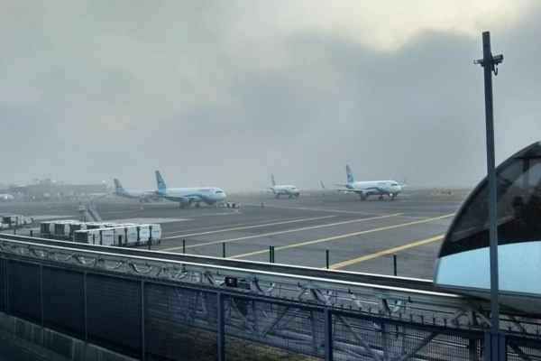 El organismo no precisó cuáles son los aeropuertos afectados. Foto: Archivo | Cuartoscuro