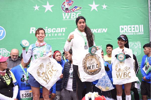 Circuito Gandhi, dentro del Bosque de Chapultepec en la Ciudad de México, recibieron el evento que convocó carreras de 6k y 12k.