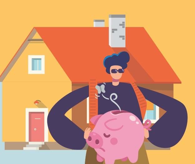 Comprar casa puede esperar / piensa joven