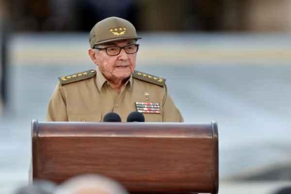 Castro dijo que se continuarán priorizandolas tareas de preparación de la defensa parapreservar la soberanía y la paz. Foto: AFP