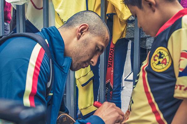 Domínguez llegó en enero de 2017 al América, con el que conquistó la corona del torneo Apertura 2018. FOTO: CLUB AMÉRICA