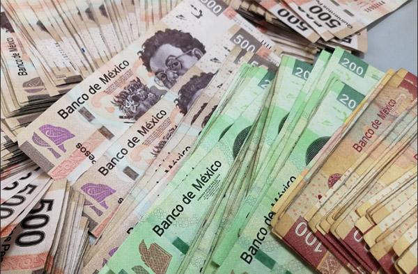El Ministerio Público Federal en Tabasco inició una carpeta de investigación tras el aseguramiento de unos dos millones 650 mil pesos en efectivo. FOTO: ESPECIAL