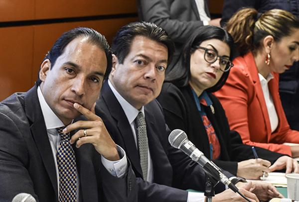 Los legisladores decidieron llevar a cabo la sesión, a pesar de la ausencia de los funcionarios, a fin de externar sus dudas sobre la estrategia. FOTO: CUARTOSCURO