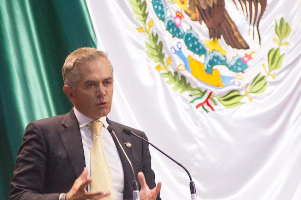 Miguel Ángel Mancera. FOTO: VICTORIA VALTIERRA / CUARTOSCURO.COM
