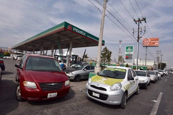 Solo 6 estaciones de servicio se han quedado sin gasolina, explicóFrancisco Martínez. Foto: Archivo | Cuartoscuro