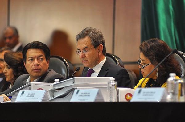 El secretario de Educación Pública, Esteban Moctezuma, calificó de fallida la reforma educativa que impulsó la administración federal pasada. FOTO: NOTIMEX