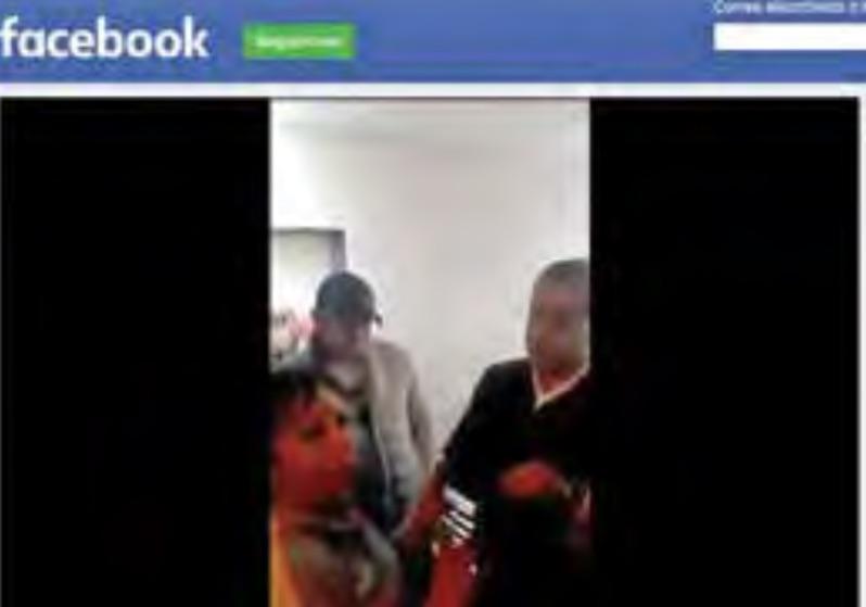 DENUNCIA. En redes circuló el video de la discusión entre la mujer y los dos hombres.