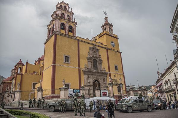 """El Gobernador celebró que el gobierno federal """"esté tomando en serio"""" el problema de Guanajuato. FOTO: CUARTOSCURO"""