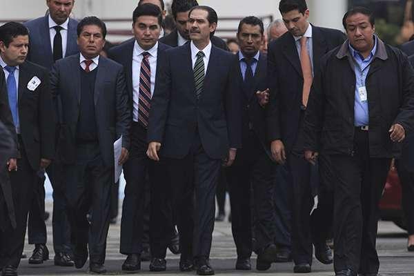 En noviembre de 2016, el exgobernador de Sonora, Guillermo Padres Elías, acudió al Reclusorio Oriente. FOTO: CUARTOSCURO
