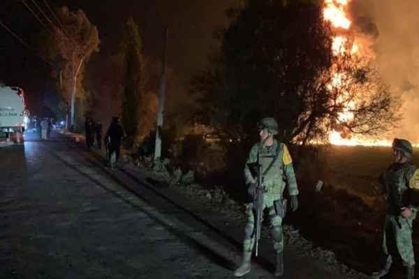 Tras la explosión del ducto de gasolina hay, al menos, 67 muertos y 75 heridos. Foto: Cuartoscuro