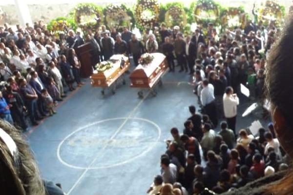 Ambos funcionarios murieron tras un ataque armado. FOTO: ESPECIAL