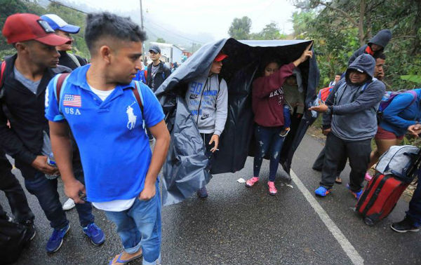 Miles de migrantes de la caravana cumplen con los requisitos del Gobierno de México de entrar de forma regular e incluso anhelan quedarse en este país
