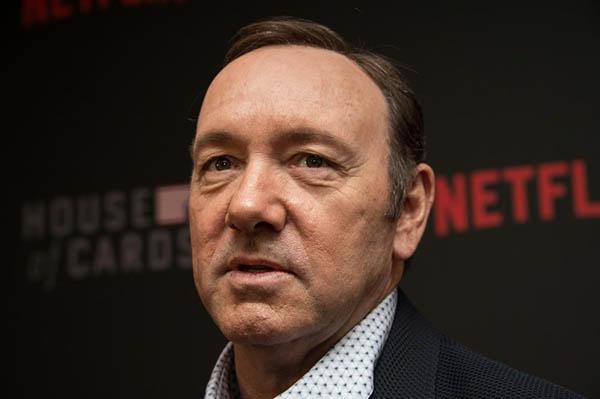 El actor estadounidense Kevin Spacey, de 59 años, fue inculpado formalmente este lunes de abuso sexual. FOTO:  AFP