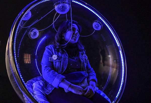 INVESTIGACIONES. Los visitantes pueden vivir las experiencias que tuvieron los creadores. Foto:  LESLIE PÉREZ