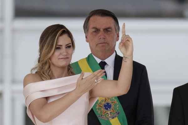 La nueva primera dama utilizó este tipo de comunicación en el Palacio de Planalto. Foto: @ASCOMJMB