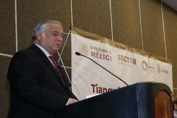 Torruco dijo que el siguiente Tianguis Turístico se desarrollará en Acapulco entre el 7 y 10 de abril. Foto: @TorrucoTurismo