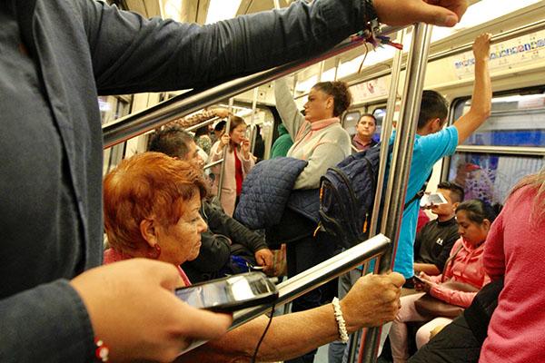 El Metro ha informado que hasta el momento no existen denuncias por los intentos de secuestro.  FOTO: NOTIMEX