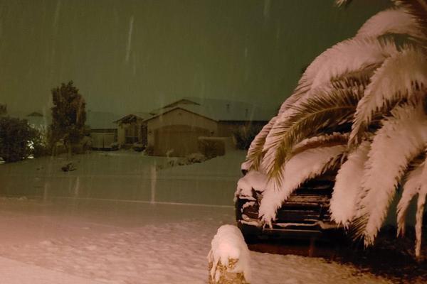La Conagua indicó que seguirá nevando en la zona. FOTO: ESPECIAL
