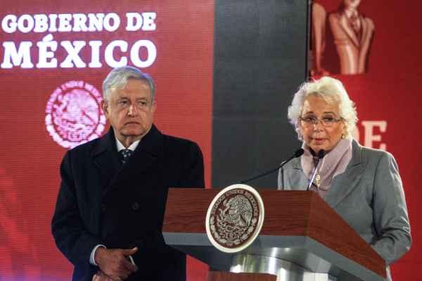 Sánchez Cordero destacó la importancia del trabajo de reforzamiento de vigilancia que se realiza por parte de la Policía Federal, el Ejército y Marina. Foto: Cuartoscuro