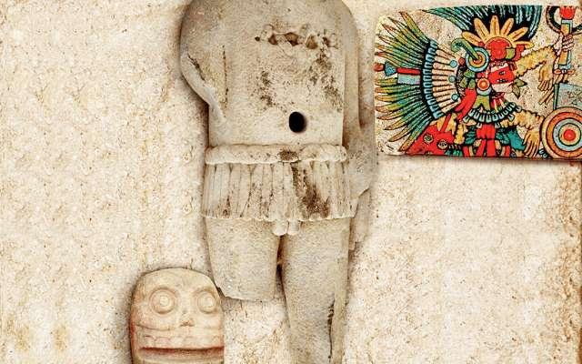 Xipe Tótec tenía dos rituales importantes: el desollamiento de hombres y el de mujeres