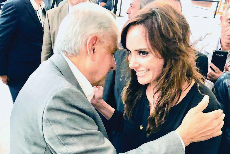 Lilly Téllez aseveró que seguirá denunciando la situación que viven los venezolanos. Foto: Especial.