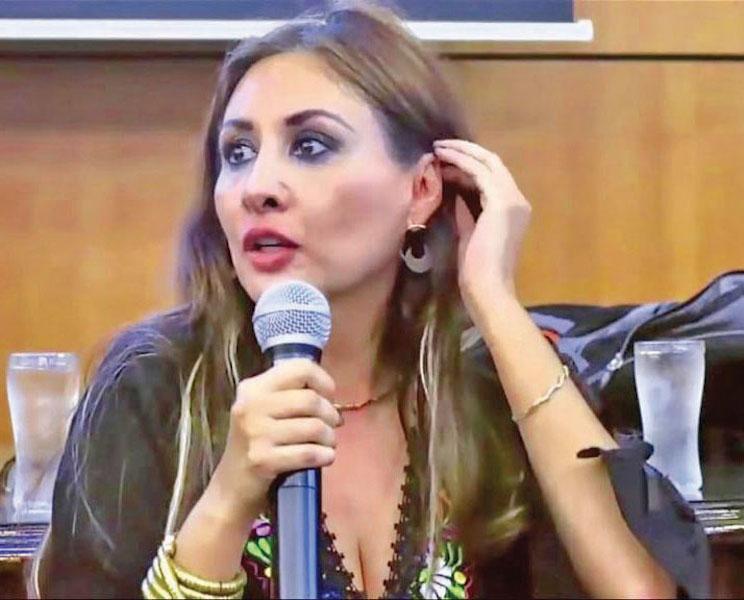 Geru Aparicio considera que los juzgadores deben ser vigilados. Foto: Especial.