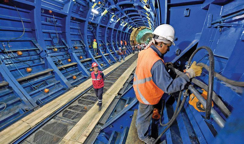La construcción del proyecto lleva 90 por ciento de avance y estará listo este año. Foto: Pablo Salazar / El Heraldo de México