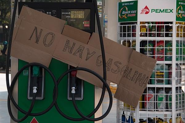 Desde hace una semana hay desabasto de gasolina en algunas estaciones de Pachuca, Mineral de la Reforma, Tizayuca, Ixmiquilpan y Actopan. FOTO: CUARTOSCURO