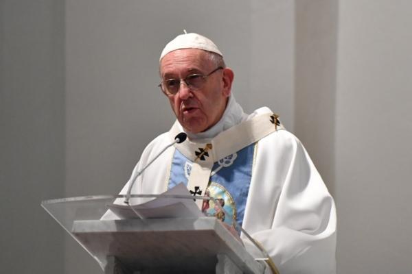 El Papa Francisco se encuentra en el penúltimo de sus cinco días de visita en Panamá. Foto: AFP