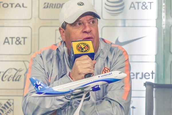 Aseguró que su plantilla está completa. Foto: Club América