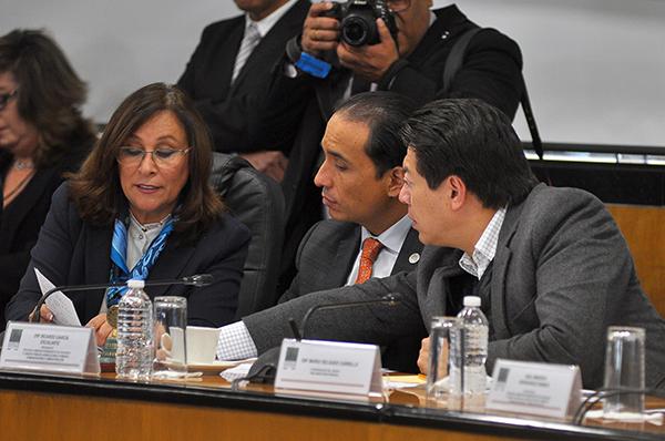 La secretaria de Energía, Rocío Nahle García, afirmó que ante el cierre de ductos de hidrocarburos, sólo ocurrieron algunos retrasos en la distribución del combustible. FOTO: NOTIMEX