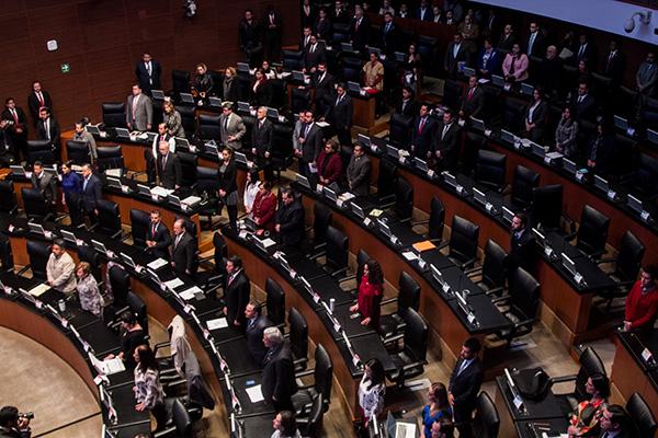 El Senado recibió hoy la terna para la Fiscalía General de la República, enviada por el Ejecutivo Federal.  FOTO: CUARTOCURO