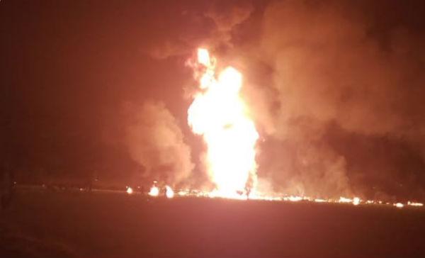 Varias personas resultaron con quemaduras, reportan Foto: Especial